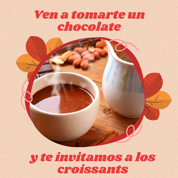 Promoción de chocolate